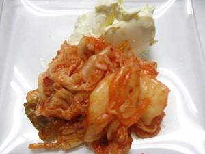 キムチーズ(クリームチーズ使用)